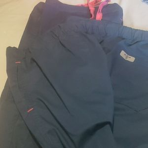Med culture scrub pants size large